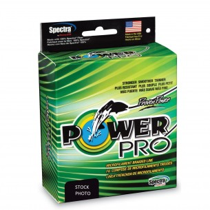 POWER PRO BRAIDED line 135 m GREEN
