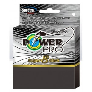 POWER PRO SUPER 8 SLICK TRECCIATO 135 metri VERDE
